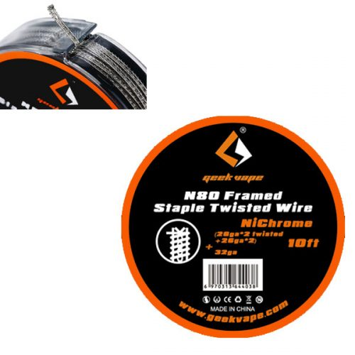 GeekVape N80 Framed Staple Twisted – 10ft