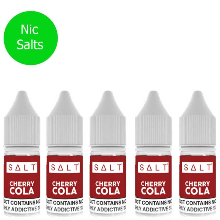 SALT – Cherry Cola Pack X5