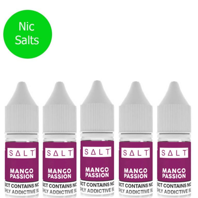 SALT – Mango Passion Pack X5