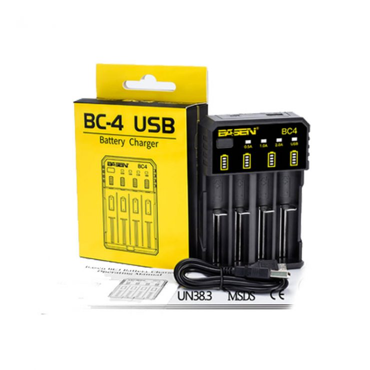 BC4 USB BATTERY CHARGER