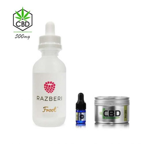 Froot Razberi & CBD Shake And Vape 500mg