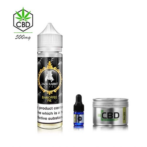 Banoffee Pie & CBD Shake And Vape 500mg