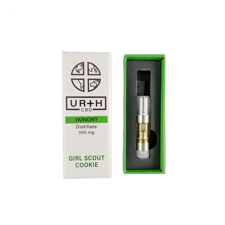 Urth 300mg CBD Cartridges - Girl Scout Cookiee